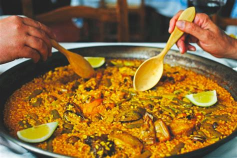 cuisine et terroir recette de la paella valenciana