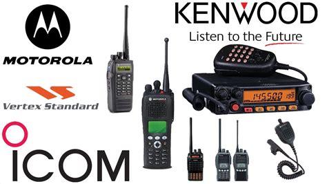 como programar radios motorola kenwood yaesu icom hytera baofen puxing vertex walkie talkie