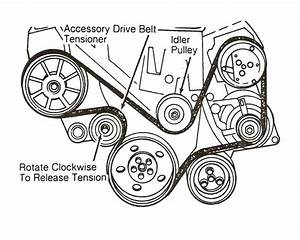 2007-2010 Nissan Altima 3 5l Serpentine Belt Diagram