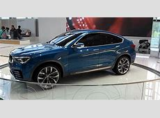 BMW X4 Concept Available for Everyone at BMW Welt