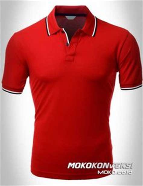 kaos berkerah warna orange baju polo shirt warna orange hitam katalog desain kaos polo