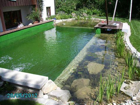 Schwimmteich Baulinksch