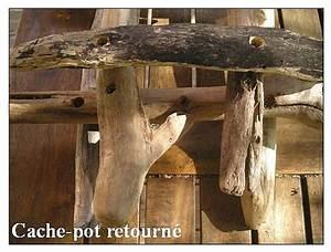 Cache Pot Bois : un tutoriel pour fabriquer un cache pot en bois flott ~ Teatrodelosmanantiales.com Idées de Décoration