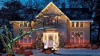 exterior christmas lights Top 46 Outdoor Christmas Lighting Ideas Illuminate The Holiday Spirit | Architecture & Design