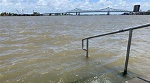 Why is the Mississippi River so high right now?