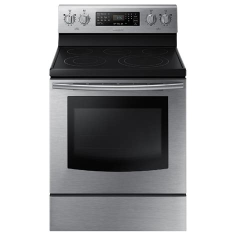 samsung smooth surface  element  cu ft  cleaning