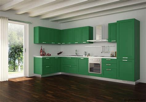 Green Kitchen Cabinets, Modern Kitchen Design  Kitchen