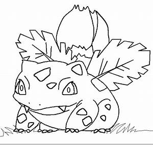 Pokemon coloring-page-002-ivysaur coloring pages