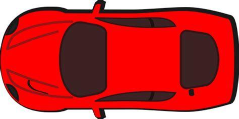 red car top view  clip art  clkercom vector