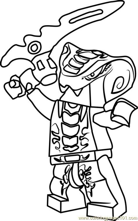 ninjago slithraa coloring page  lego ninjago