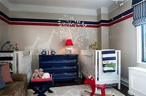 chambre bebe bien choisir les couleurs With chambre bleu blanc rouge