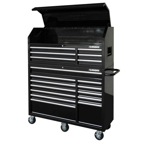 husky    drawer tool chest  cabinet set