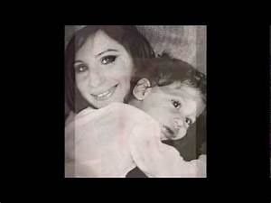 """Barbra Streisand -""""If I Could""""- With her son Jason Gould ..."""
