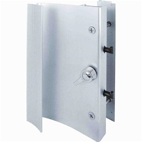 sliding glass door handles prime line horizon aluminum surface mounted sliding glass