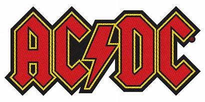 Dc Patch Band Cut Acdc Official Rock