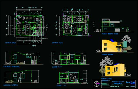 restaurant hotel  dwg plan  autocad designs cad