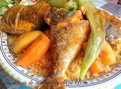 recette cuisine couscous recette du couscous tunisien au poisson blogs de cuisine