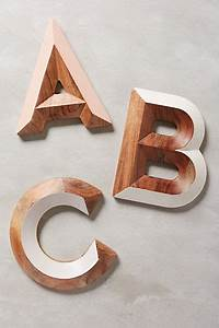 25 unique wooden monogram letters ideas on pinterest With anthropologie wooden letters