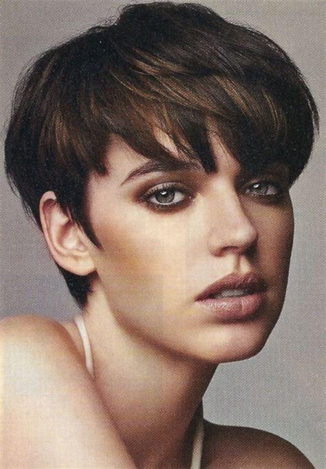 short layered wedge hairstyles cute layered wedge