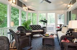 Choosing sunroom furniture to match your design style for Sun porch furniture ideas