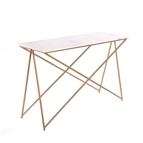 Marble Console Table by Stellar White Marble Console Table Atkin And Thyme