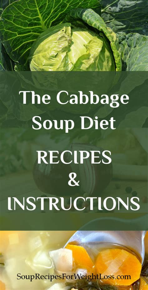 cabbage soup diet recipe the cabbage soup diet recipe and instruction
