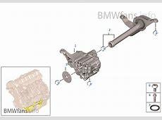 Lubrication systemOil pump BMW 3' E90 330i N52 USA