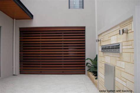 danmar cedar batten panel dynasty garage doors