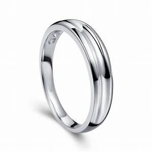 mens wedding ring band on white gold jeenjewels With white gold wedding rings mens