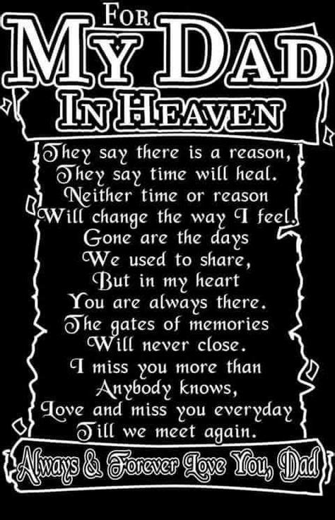 Miss you dad | I miss you dad | Pinterest | Dads, Heavens