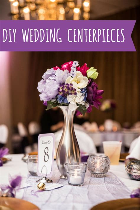 Inexpensive DIY Wedding Centerpieces Oh Julia Ann