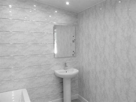 white marble sample gloss pvc panels grey gloss