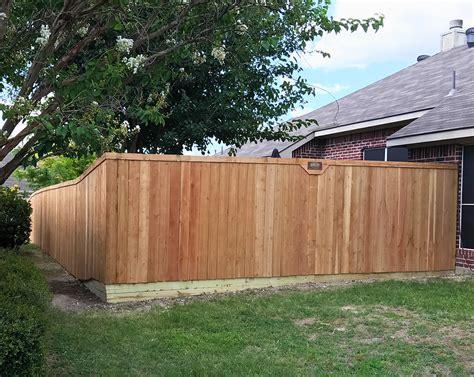 Backyard Fence Company by 6 Ft Cedar Wood Fences Metal Posts A Better Fence
