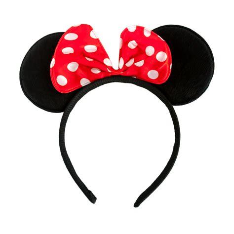 minnie maus karneval haarreifen minnie mouse maus ohren mit schleife fasching karneval ebay