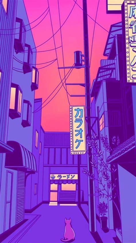 neon anime aesthetic wallpapers