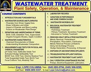 Columna Energy  Wastewater Treatment Plant Operation