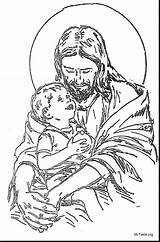 Jesus Coloring Printable Pages Manger Getcolorings Nativity sketch template