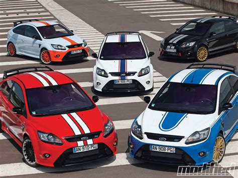 Customized Focus Rs Tribute Cars Grace Le Mans Modified