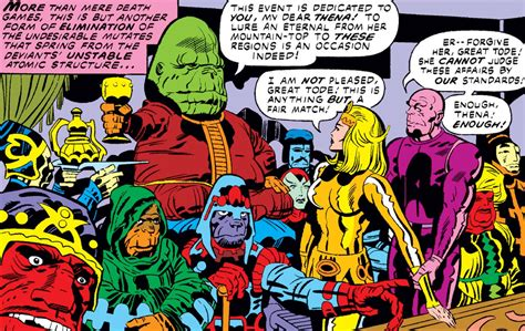 Everything You Need To Know About Marvel's The Eternals ...