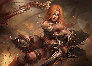 Barbarian by TamplierPainter, diablo 3 barbarian, concept ...