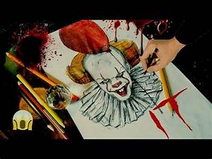 Funny Pennywise It 2017 Drawing