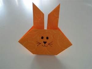 Hase Basteln Einfach : origami hase einfach bastelmausi ~ Orissabook.com Haus und Dekorationen