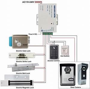 Electromagnetic Lock Wiring Diagram