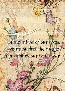 Vintage Fairy Illustration | Baby Quotes | Pinterest ...