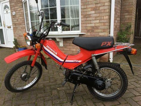 Honda Moped by Honda Px50 50cc Moped 1984 A Reg In Stafford