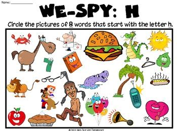 words that begin with the letter h we letter quot h quot worksheets and activities 26498