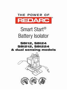 Smart Start Battery Isolator  Sbi12  Sbi24 Sbi212  Sbi224