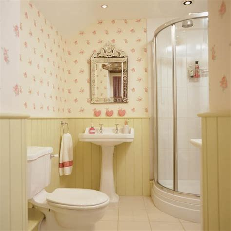 bathroom wallpaper ideas uk printed wallpaper with tongue and groove panelling