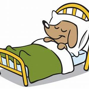 Bed black and white dog bed cliparts free download clip ...