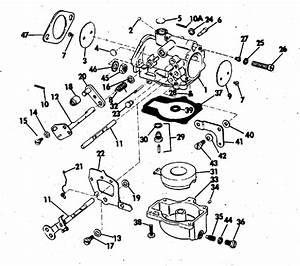 Johnson Carburetor Parts For 1973 65hp 65esl73r Outboard Motor